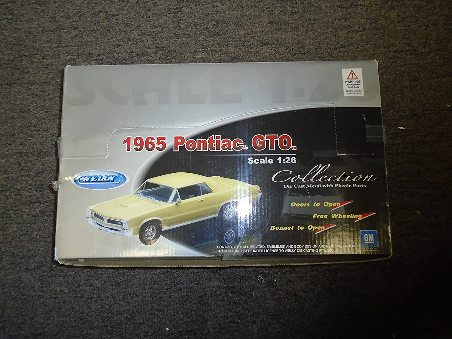 Amazon com: Welly 1:26 1965 Pontiac GTO Collection Die Cast