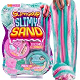 SLIMYSAND Twist - Teal/Pink Scented Stretchy Cloud Slime, Cotton Candy & Watermelon, Stretchable, Moldable, Play Sand…