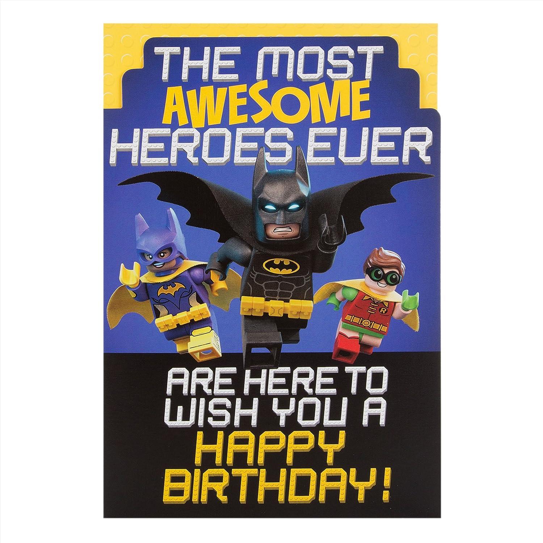 BATMAN BIRTHDAY CARD Amazoncouk Office Products – Batman Birthday Cards