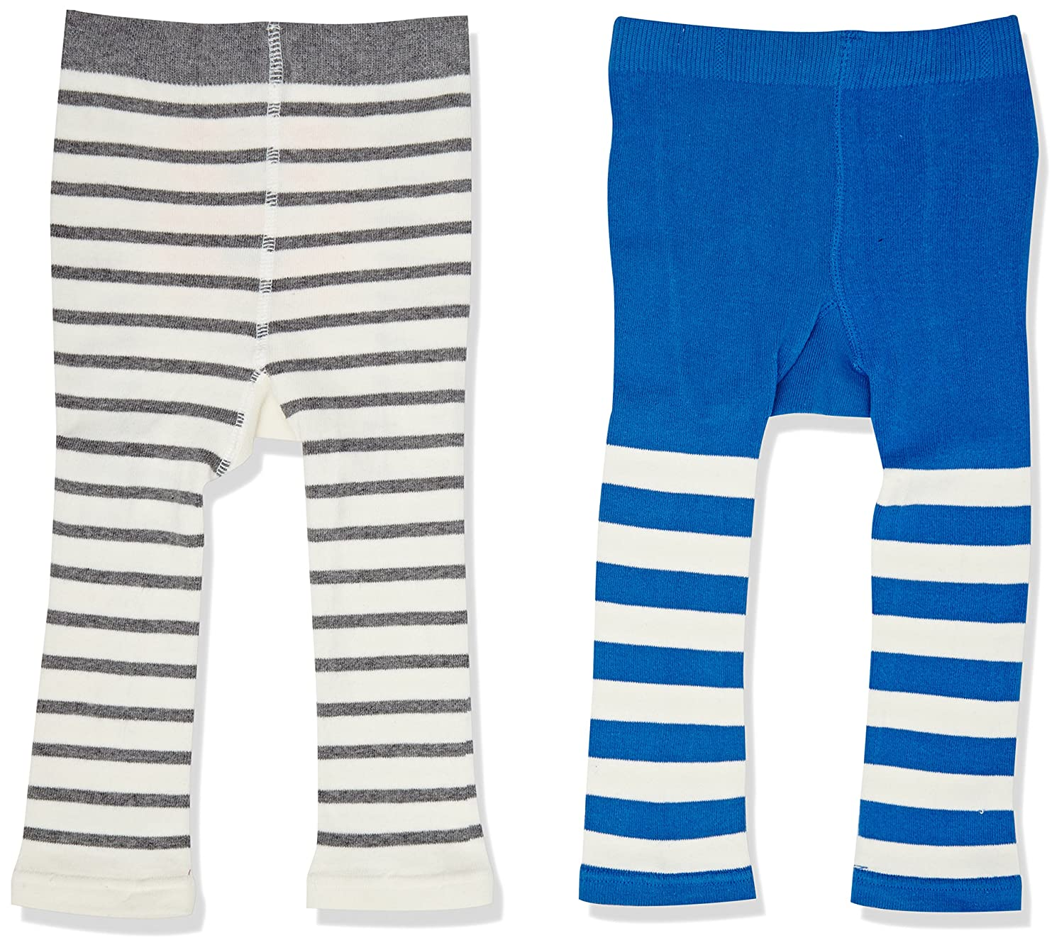 Joules Boys' Baby Lively Tights Pack of 2 Multicoloured (Coastal) Small (Size:0-6) Pack of 2 W_BABYLIVELYB
