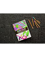 Adult Colouring Therapy Book 64 pages