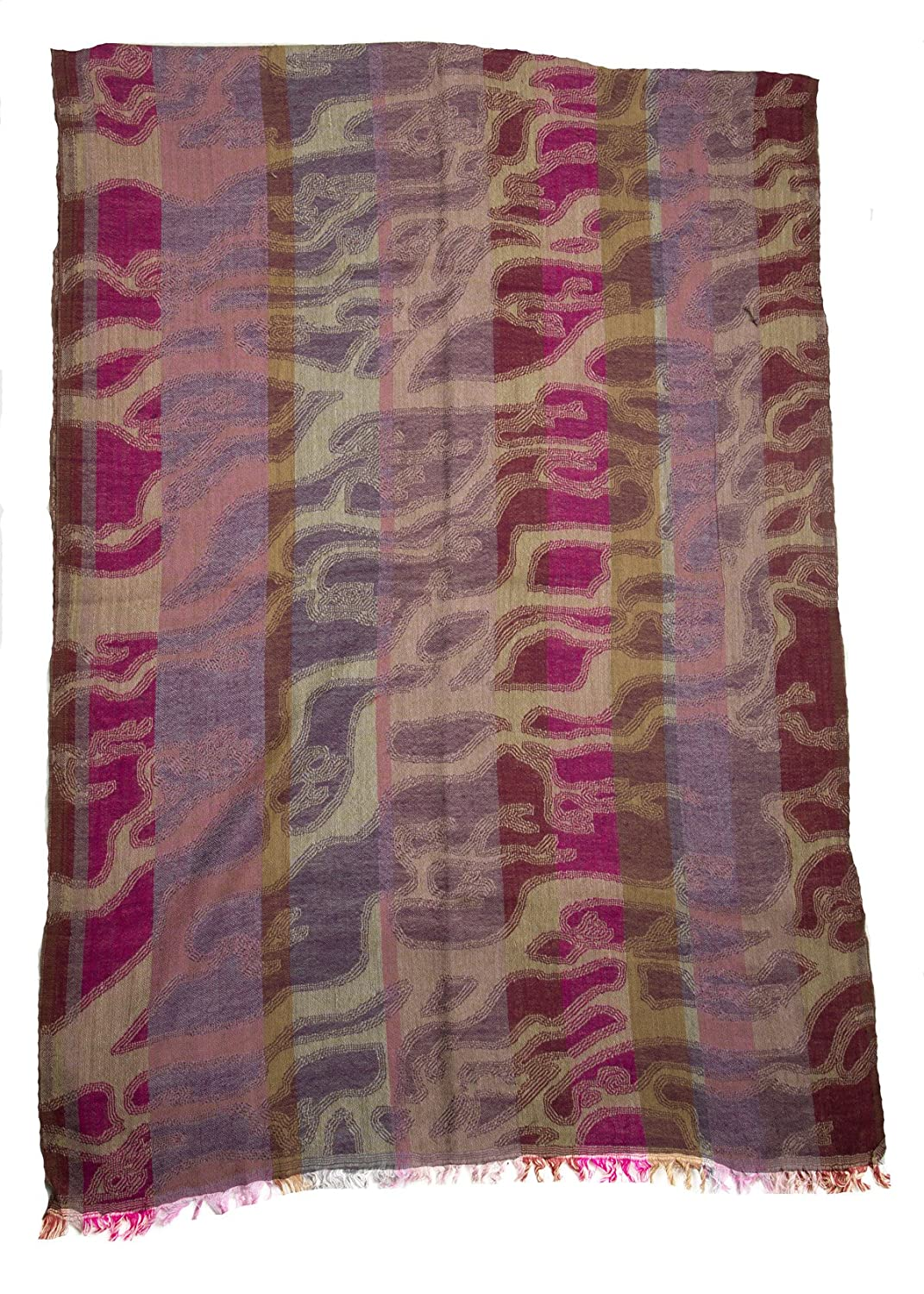 The Scarf Hut Women's Multicolor Woven Scarf