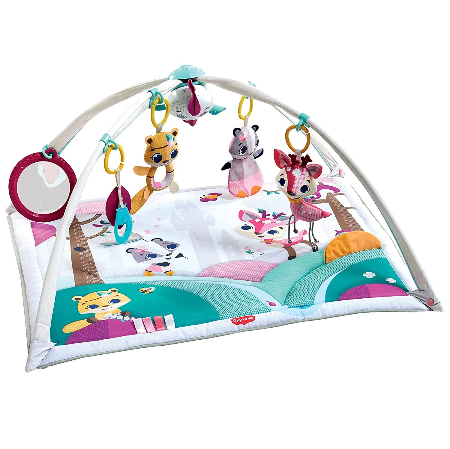Tiny Love Gymini Deluxe Activity Mat, Tiny Princess Tales Dorel Juvenile Group-CA TO052