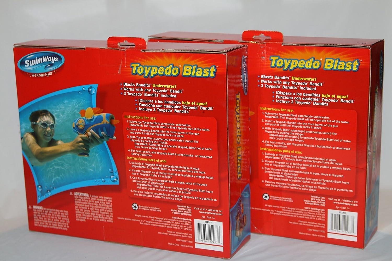 Toypedo blast safety fixes: 4 steps.