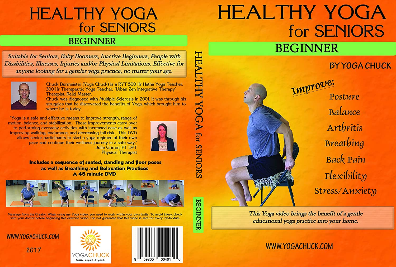 Amazon.com: Yoga for Seniors - 3 DVD Set: Beginner ...