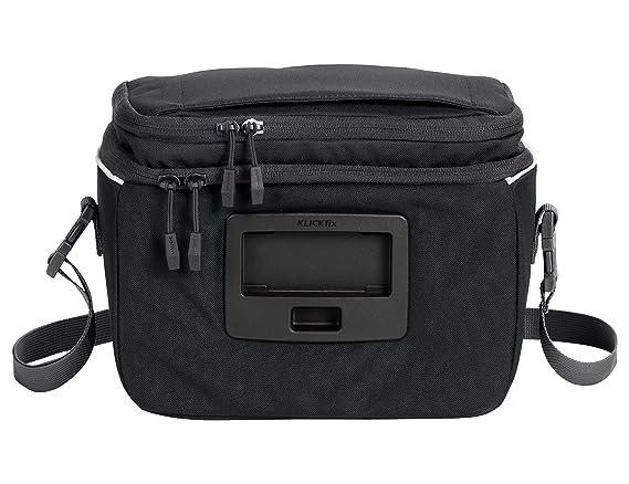 o Klickfix Adapter Stuurtas Mixte Adulte, Black, Taille Unique