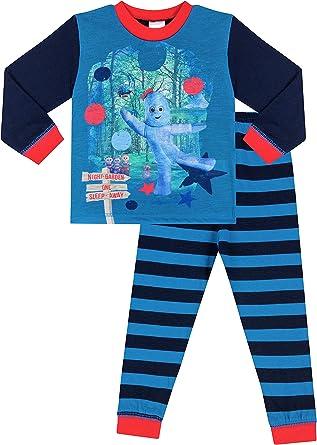 The Pyjama Factory Jungen Schlafanzug Blau blau