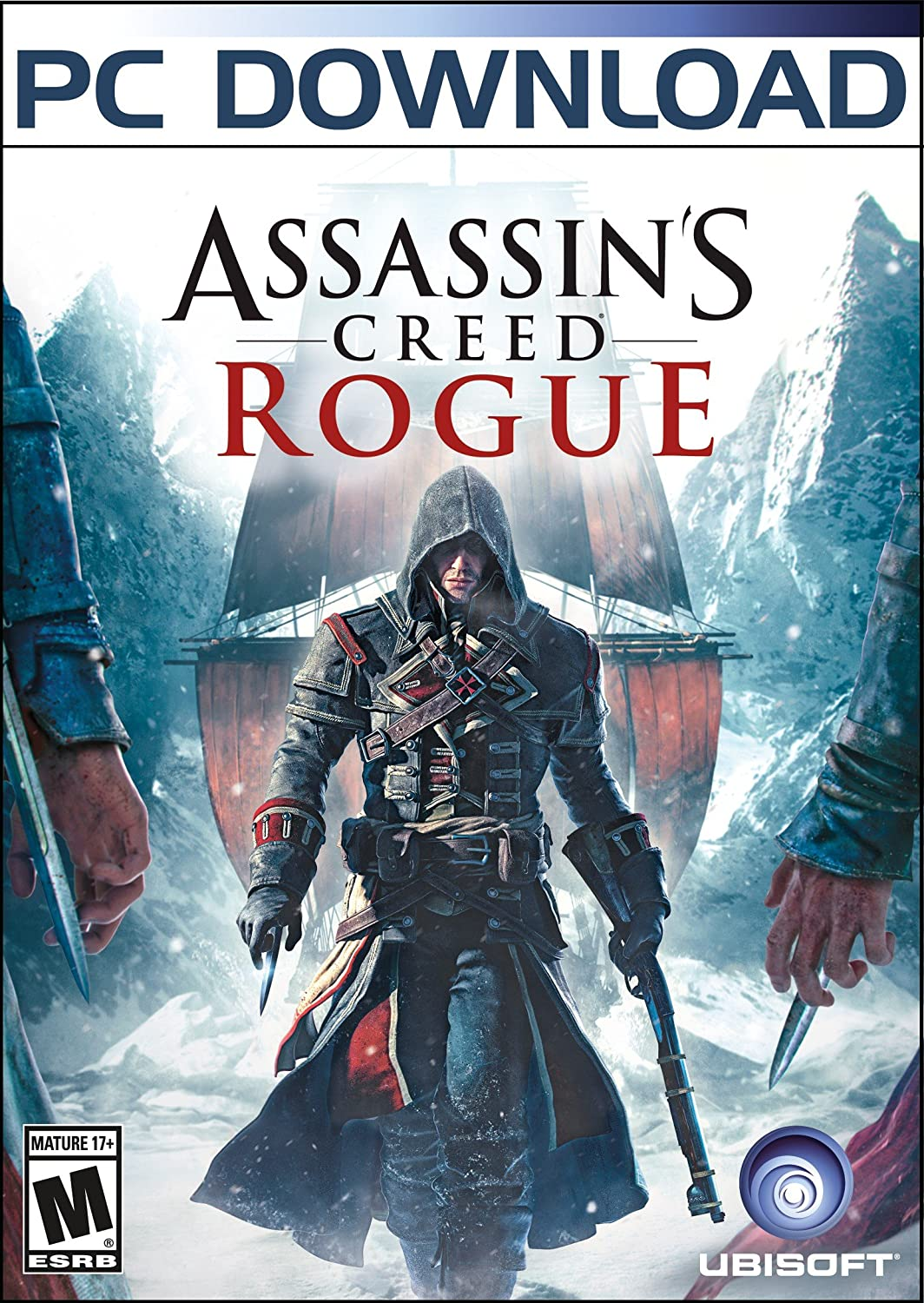 Amazon.com: Assassin\'s Creed Rogue- Xbox 360: UbiSoft: Video Games