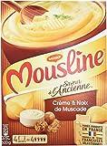 Maggi Purée Mousline Saveur à l'ancienne crème et noix de muscade - 4 sachets de 125 cl