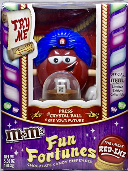 M&Ms Fun Fortunes Candy Dispenser/2008 by Mars Incoporation