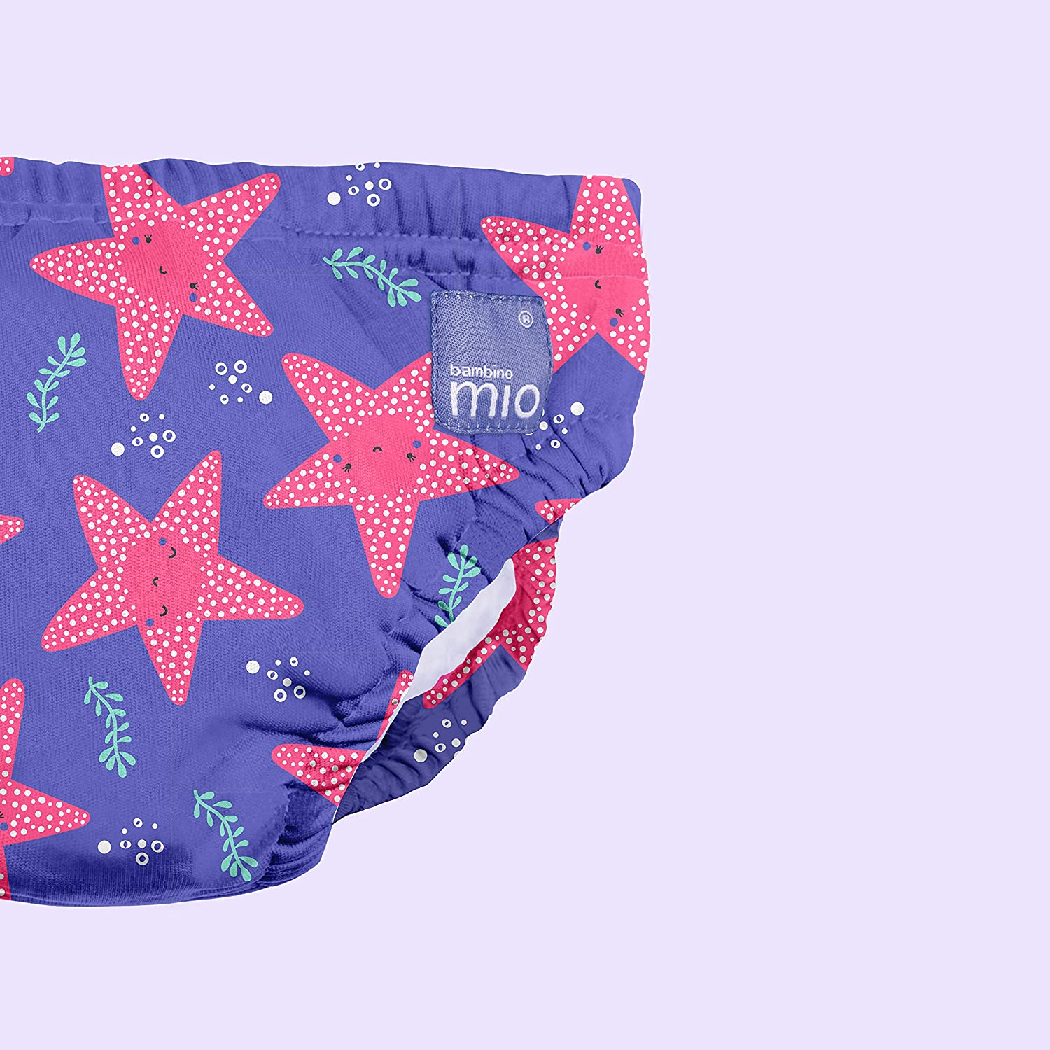 Violet 2 Years+ Extra Large 3 Pack Bambino Mio Reusable Swim Diaper