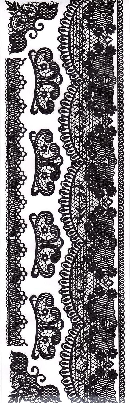 Craftime Enchanted Lace Rub Ons AC0150E