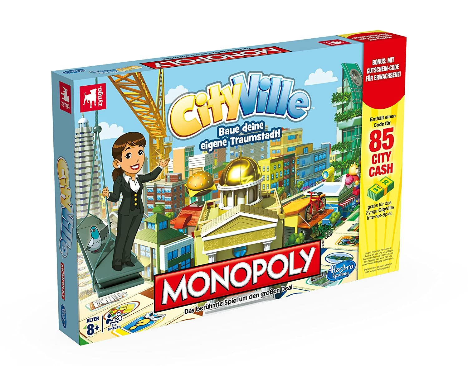 Monopoly Cityville Board Game by Hasbro