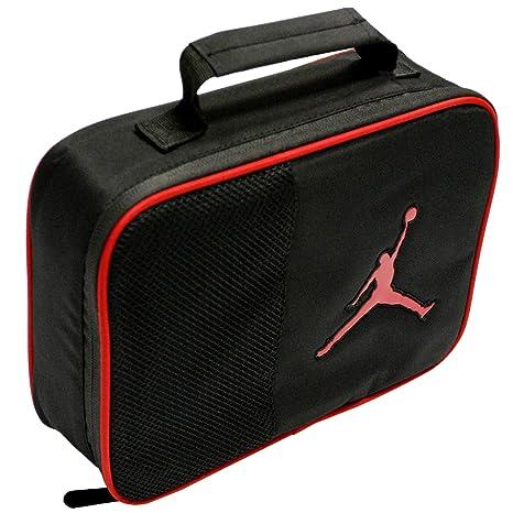 36daadd0a4328d Amazon.com  Jordan Boys Jordan Lunch Tote (Black Red)  Lunch Boxes ...