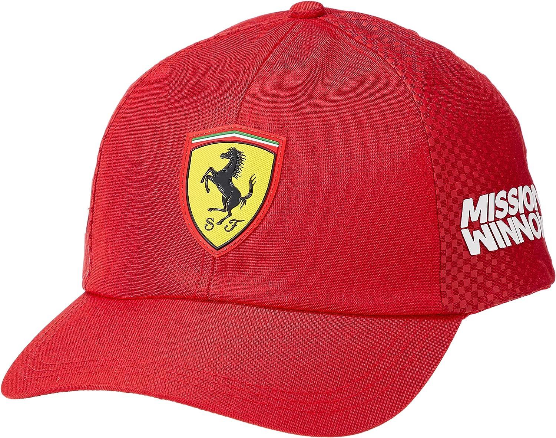 Scuderia Ferrari 2019 F1™ Team Gorra: Amazon.es: Deportes y aire libre