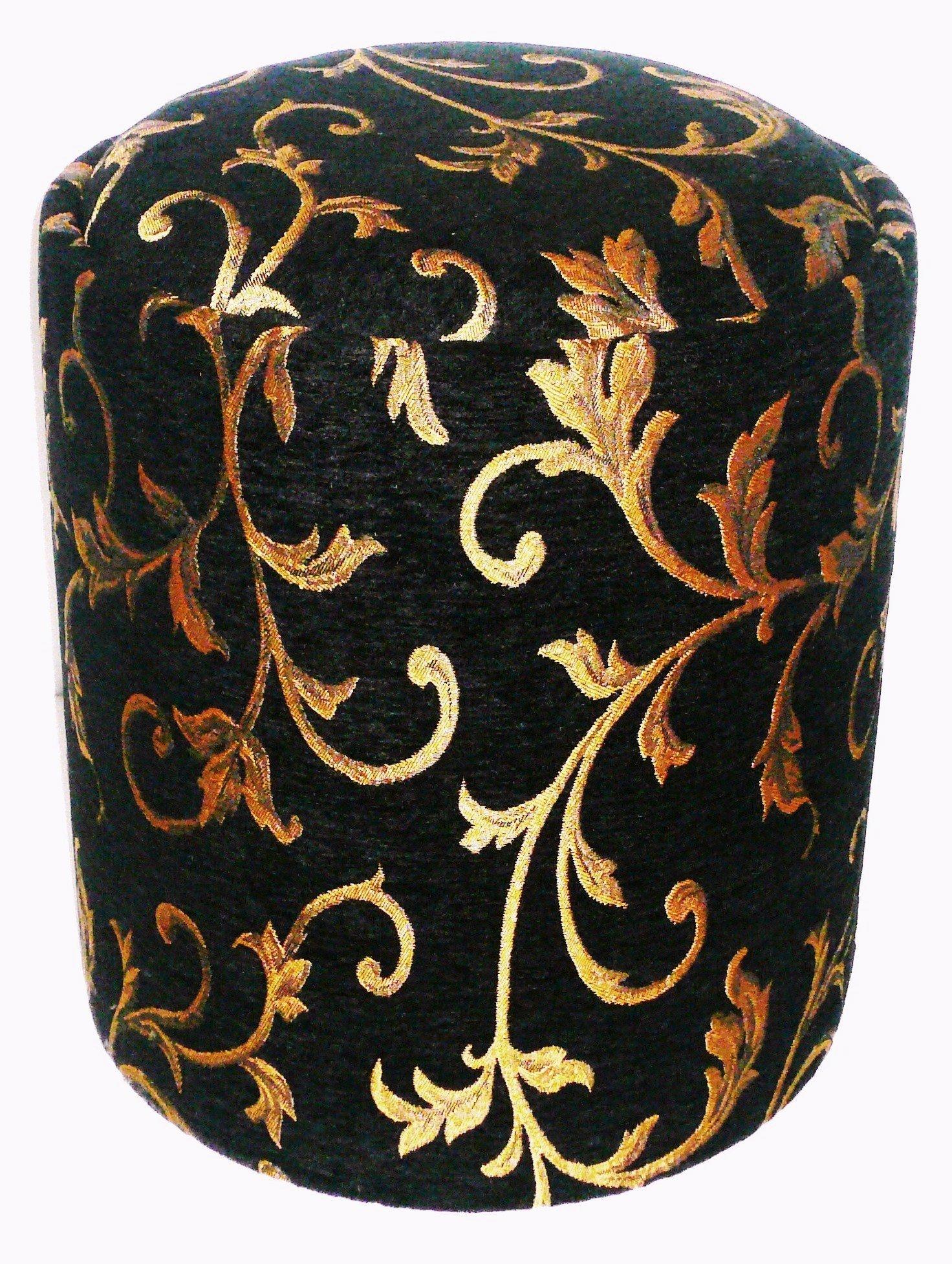 Lawson & Son's Ony-Tab Royal Onyx Taboret Storage Ottoman by Lawson & Son's