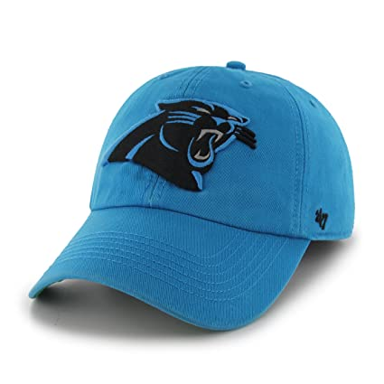 brand new 29b90 7de0e NFL Carolina Panthers  47 Brand Franchise Fitted Hat, Glacier Blue, Small