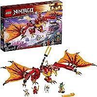 LEGO 71753 NINJAGO Legacy Fire Dragon Attack Toy with Kai, Zane and NYA Minifigures, Ninja Play Set for Kids 8+ Years…
