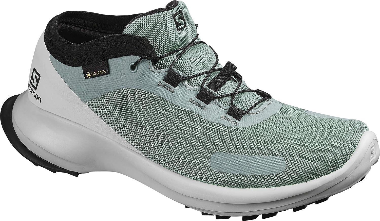 Salomon Womens SENSE RIDE 3 GTX Invisible Fit W Trail Running Shoe