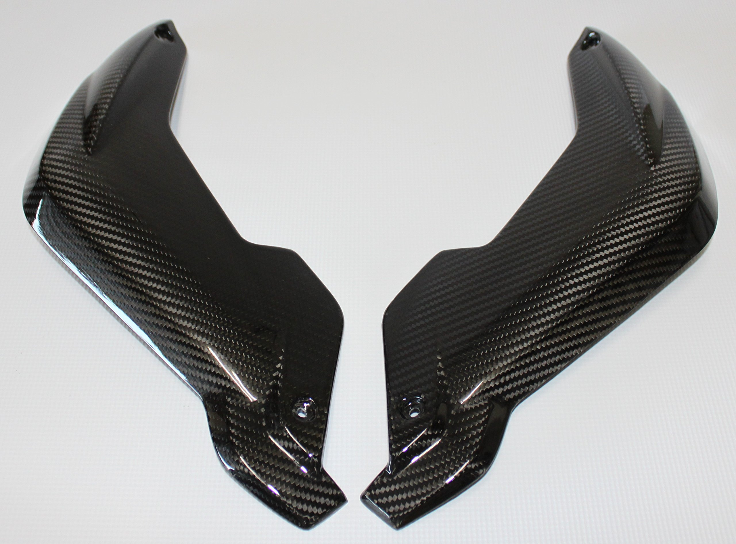 Carbon Fiber Racing, BKBM34CFFG, Carbon Fiber / Fiberglass BMW K1300R 2009-2015 Fork Covers