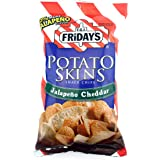 T.G.I. Friday Potato Skins Snack Chips, Jalapeno Cheddar, 4.5 Ounces (Pack of 3)