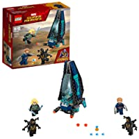 LEGO Marvel Super Heroes Avengers: Infinity War Outrider Dropship Attack 76101 Playset Toy