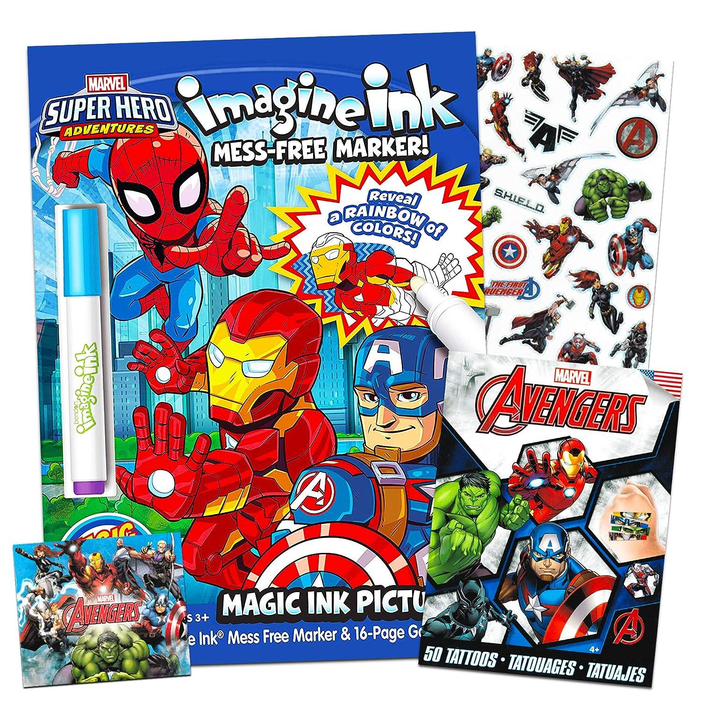 Marvel Super Hero Adventures Imagine - Libro de actividades para ...