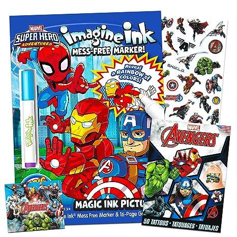 Amazon.com: Marvel Super Hero Adventures Imagine Ink ...