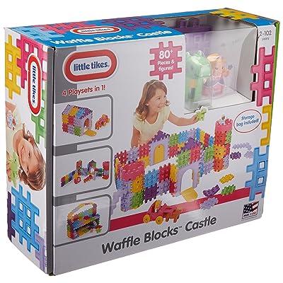 Little Tikes Waffle Blocks - Castle: Toys & Games