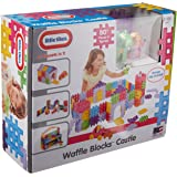 Little Tikes Waffle Blocks (Castle) Building Kit, 18 Pieces