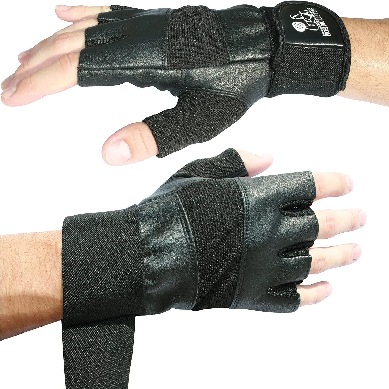 Weightlifting CrossFit Premium Quality Gear Weight Lifting Gloves With 12 Wrist Support For Gym Workout 1 Year Warranty The Best For Men /& Women Fitness /& Cross Training