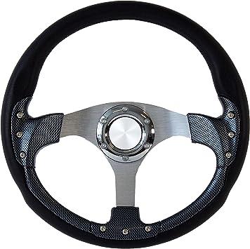 14 Pursuit Classic I Carbon Fiber Style Steering Wheel
