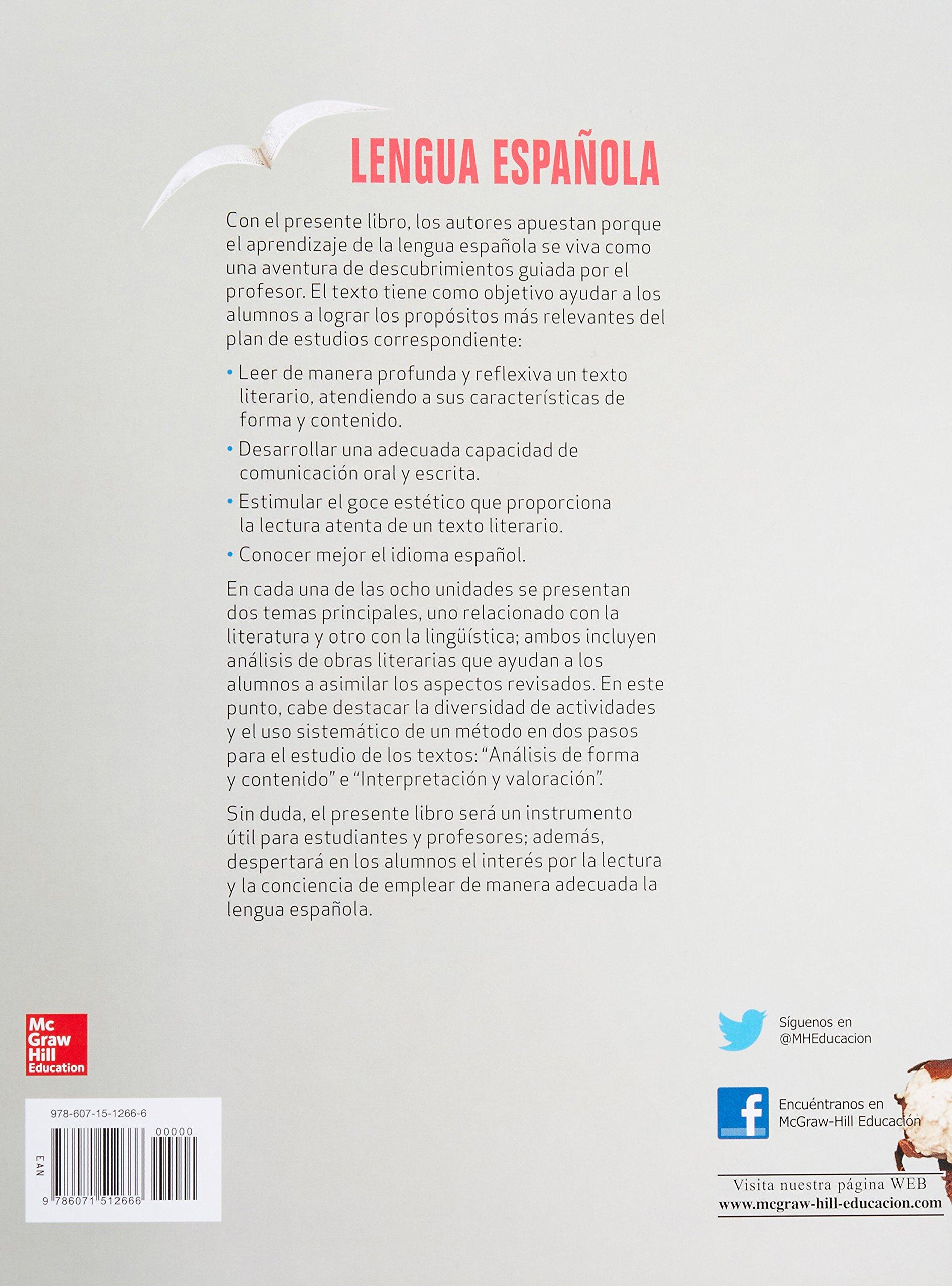 LENGUA ESPANOLA. BACHILLERATO: Amazon.es: JAVIER LOPEZ CAMPOY: Libros