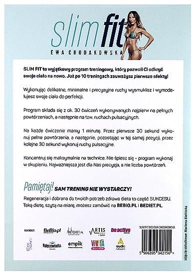 Ewa Chodakowska Slim Fit Dvd No English Version Amazon Co Uk Ewa