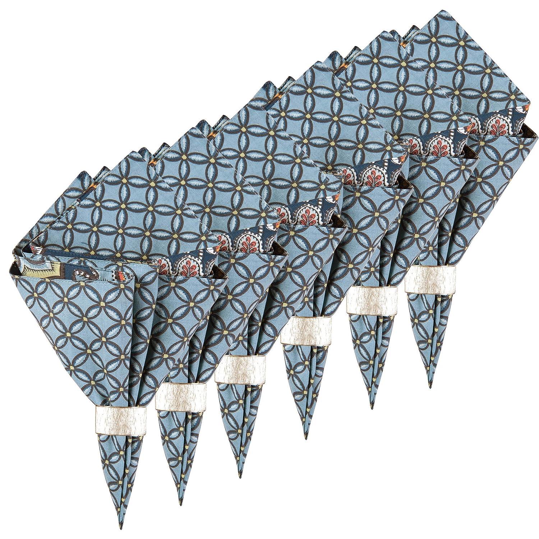 ミドルトンリバーシブルコットンナプキンのセット6 20 x 20   B075VMTGF4
