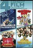 Spaceballs / Garndma's Boy / Robin Hood: Men In Tights / Super Troopers (Bilingual)