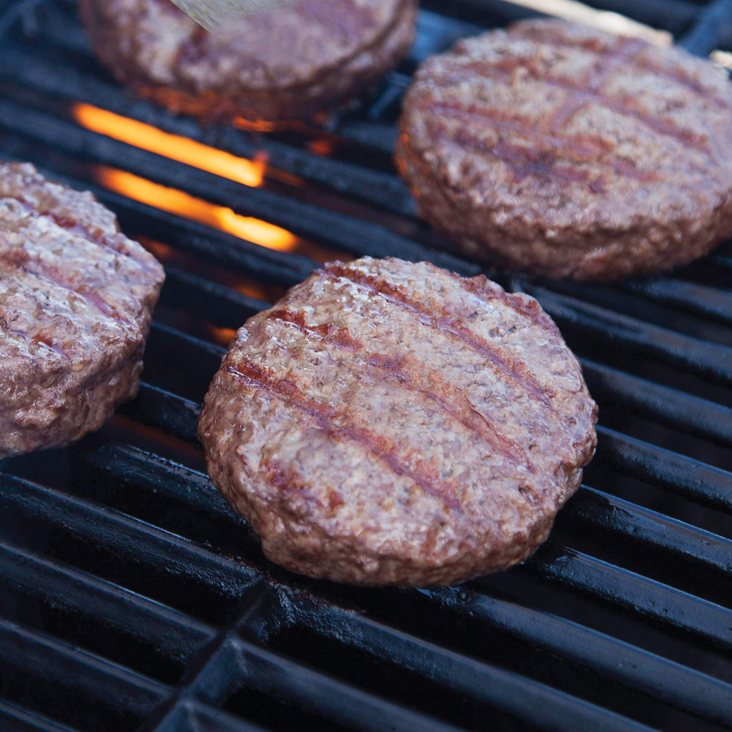 Pre, 92% Lean 1/3 LB Burger Patties – Grass-Fed, Grass-Finished and Pasture-Raised- 32 Patties