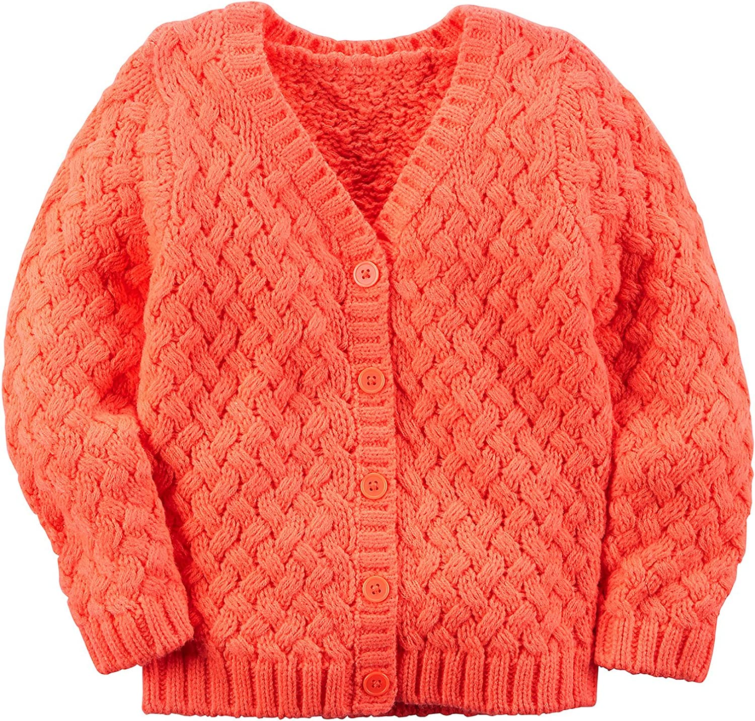 Cromoncent Girls Top Pullover Thick Jumper Cute Knitted Sweaters