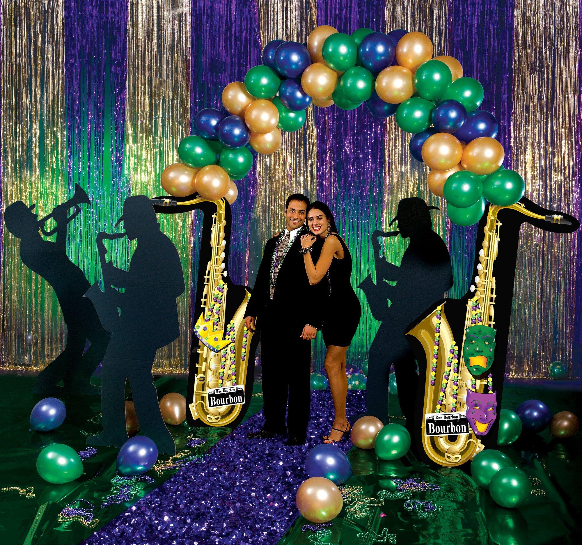 Mardi Gras Balloon Party Prop