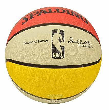Spalding Atlanta Hawks equipo de baloncesto: Amazon.es: Deportes y ...