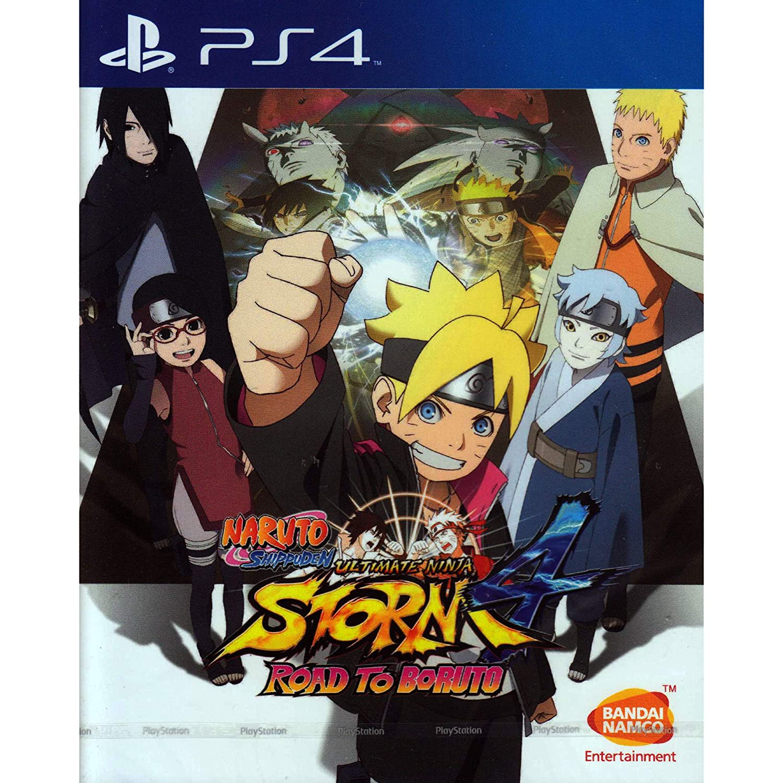 Amazon.com: PS4 NARUTO SHIPPUDEN: ULTIMATE NINJA STORM 4 ROAD TO BORUTO  (ENGLISH SUBS) (ASIA): Video Games