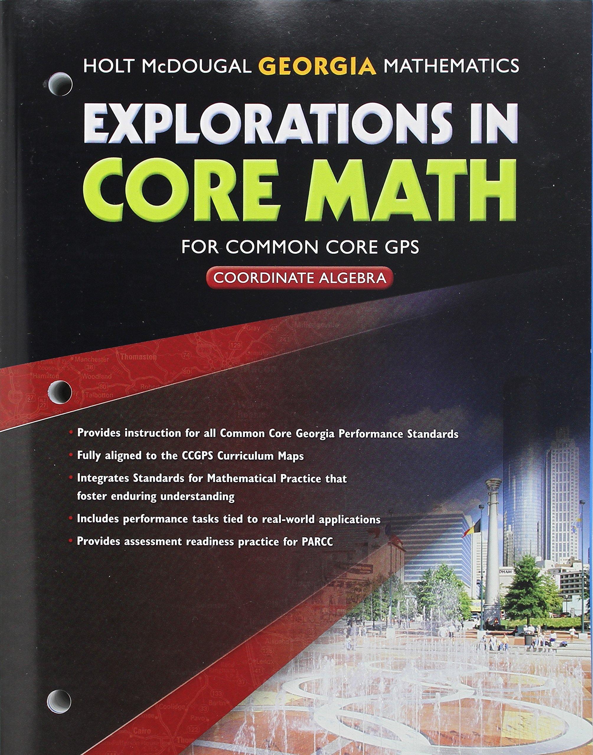Explorations in Core Math: Common Core GPS Student Edition 2014
