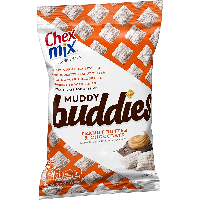Chex Mix Muddy Buddies Peanut Butter Chocolate 7 oz Bag