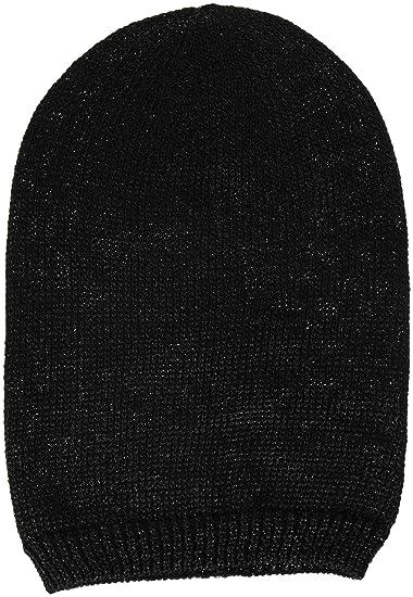 220b06ed322 Steve Madden Women s Solid Lurex Oversized Beanie
