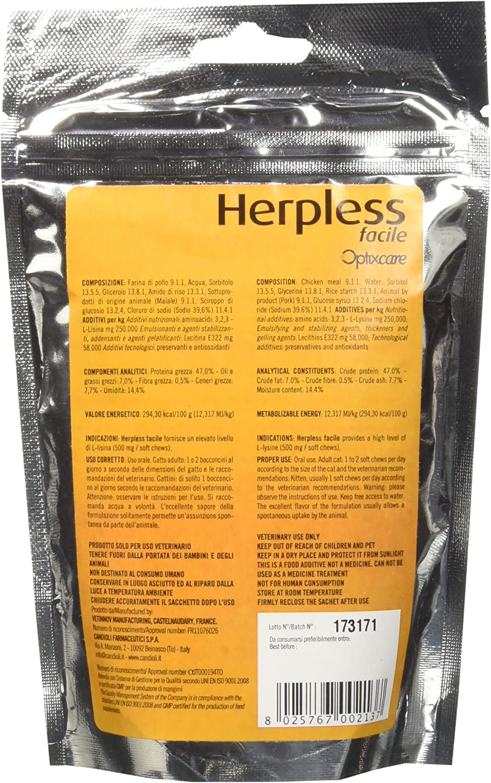 Candioli Herpless Facile Bocconcini 60G