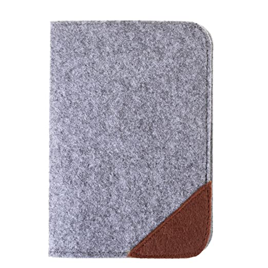 Case star soft felt passport holder travel wallet for business case star soft felt passport holder travel wallet for business credit cards boarding passes grey reheart Image collections