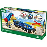 BRIO World 33812 - Polizei Goldtransport-Set