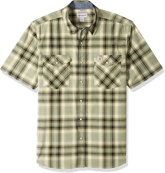 Carhartt Mens Rugged Flex Bozeman Short Sleeve Shirt