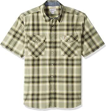 Carhartt Men's Rugged Flex Bozeman Short Sleeve Shirt