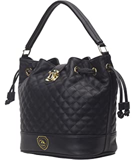 13616e775045 Dasein Drawstring Grommet Bucket Shoulder Bag Crossbody Black ...